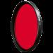 B+W Filtro serie F-PRO MRC 091 Rosso scuro 43mm