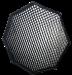 Chimera Griglia di stoffa 50° per OctaPlus 120cm