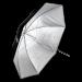 Hensel Ombrello argento diam.105cm