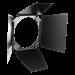 Hensel 4 alette frangiflusso con portafiltri