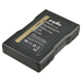 Jupio Batteria Gold Mount 6600mAh (95Wh)-spia LED/USB output 2.1A/DC porta/D-Tap