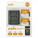 Jupio Caricatore  triplo USB per batterie  GoPro Hero 9   Hero 10 + 2 batterie
