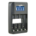 Jupio caricabatteria rapido LCD - USB 4-slots