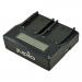 Jupio Caricatore Doppio dedicato per batterie fotocamere serie Sony BP-U