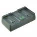 Jupio Caricatore Pro per batterie fotocamera Nikon EN-EL4(A)/EN-EL18A/EN-EL18B/LP-E4N/LP-E19 (no EN-EL4/LP-E4) - EU/UK